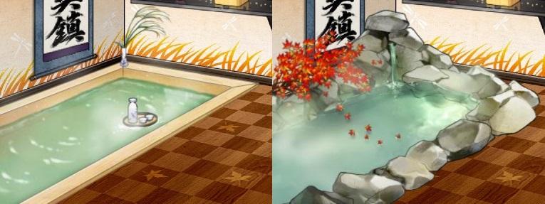 檜風呂・岩風呂 秋季mode