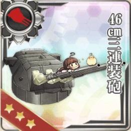 46㎝三連装砲