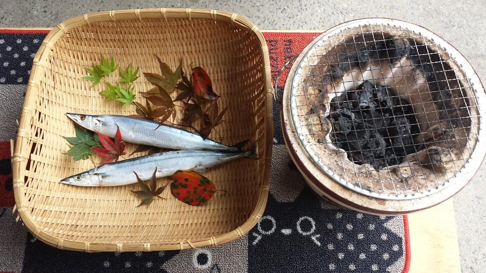 秋刀魚 七輪