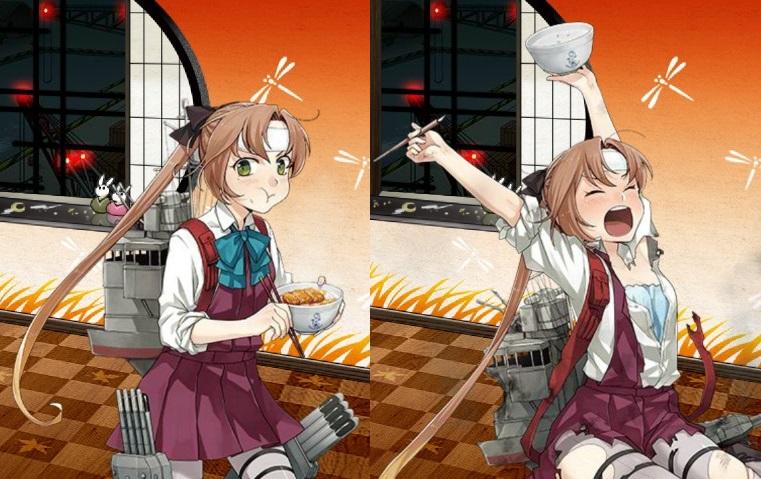 秋雲 かつ丼mode