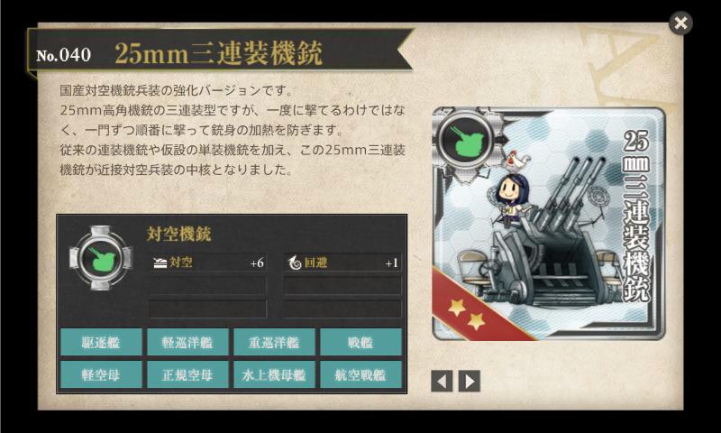 25mm三連装機銃 詳細