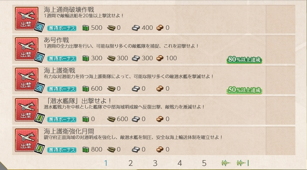 【艦これ】難易度の高い任務を3つ選んでみた(二期)