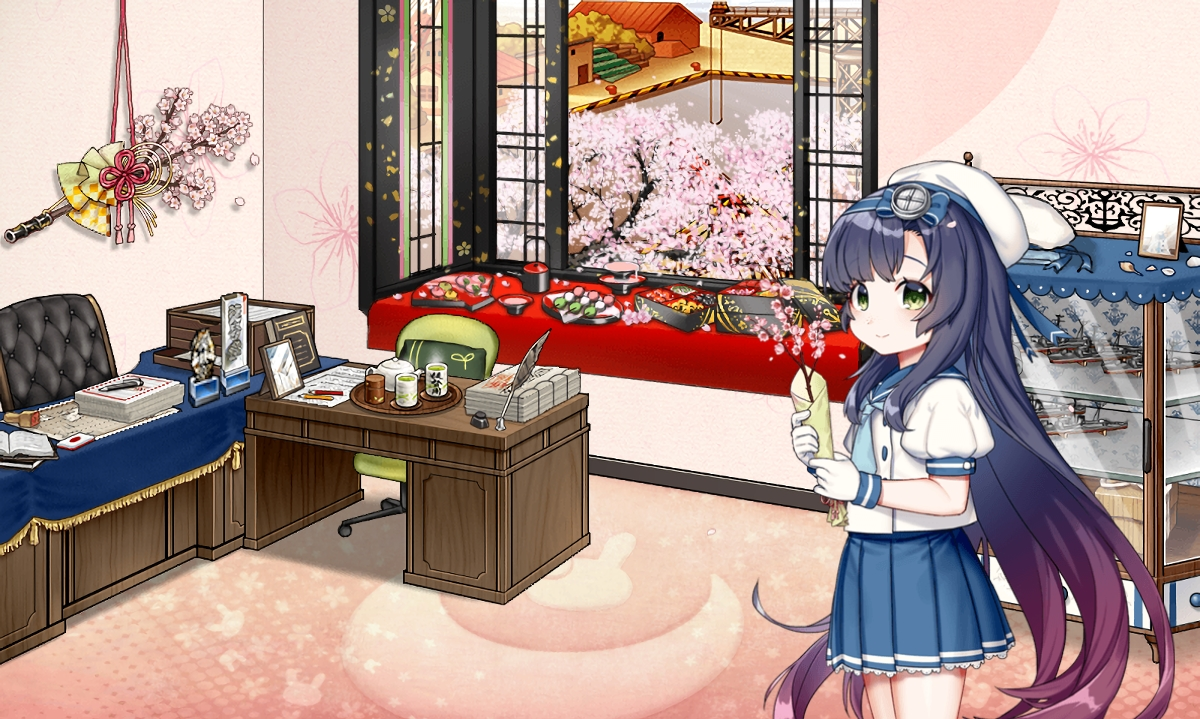 松輪 桜 模様替え