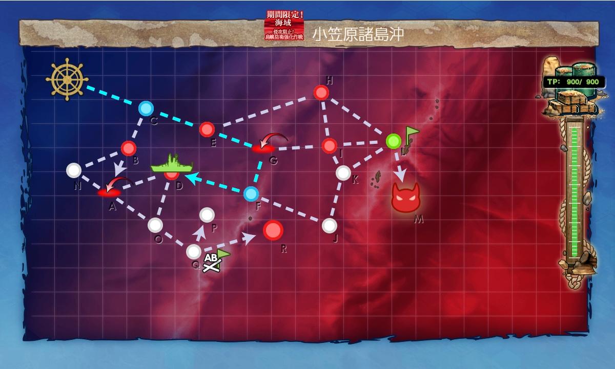 【艦これ】E4の(ボスルート)ギミック解除(甲作戦)2020梅雨イベント
